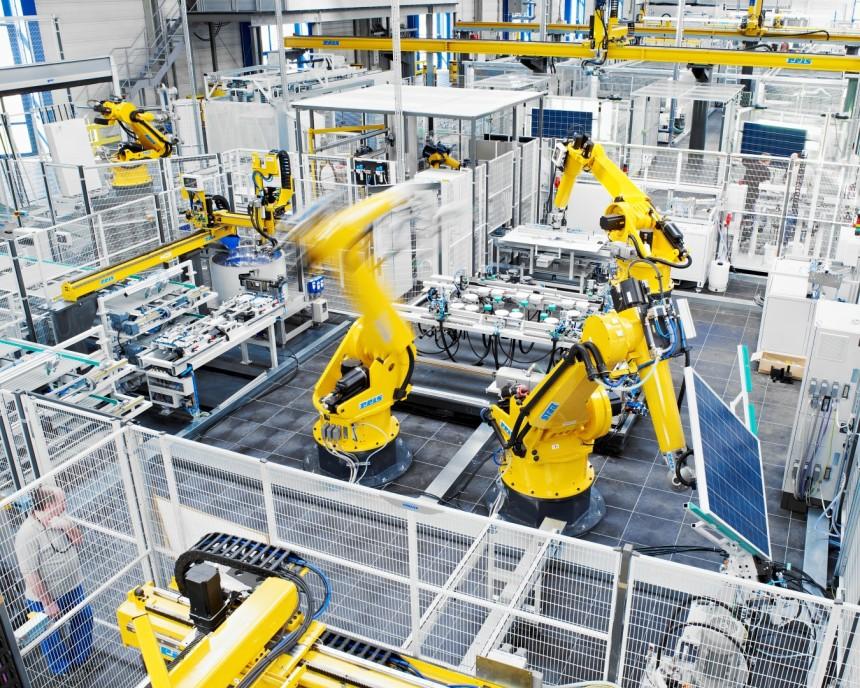 Solar-Fabrik Produktion Werk III (Large)